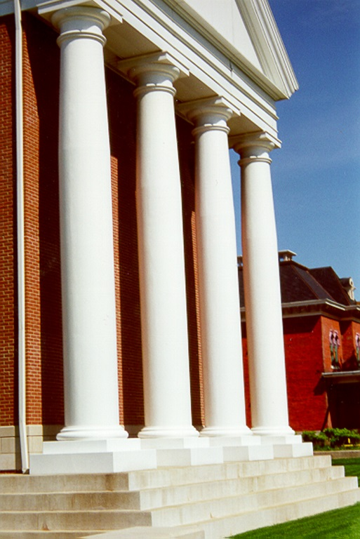 Architectural fiberglass inc fiberglass frp columns for Decorative fiberglass columns
