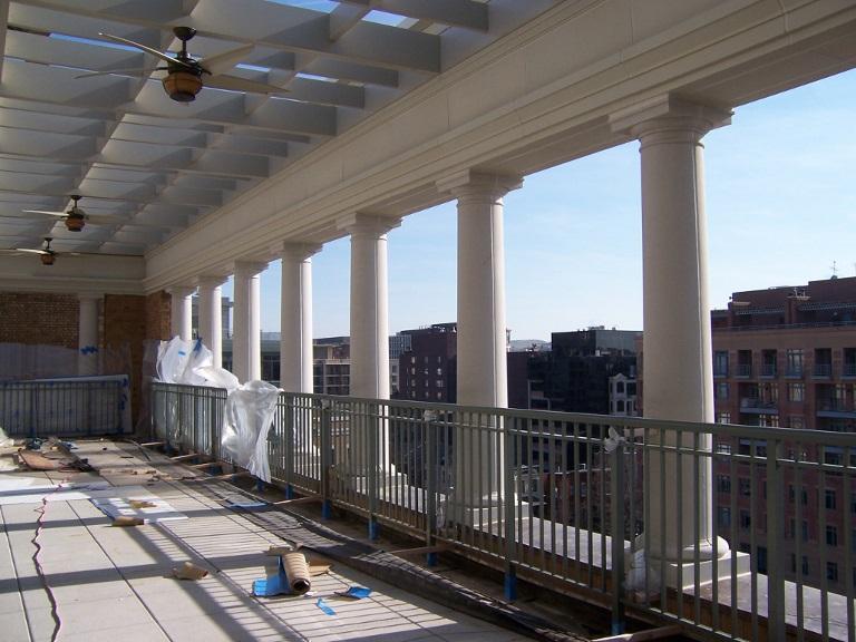 Structural Fiberglass Columns : Architectural fiberglass inc frp columns
